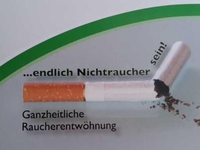Bild einer gebrochenen Zigarette