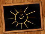 Smiley Sonne